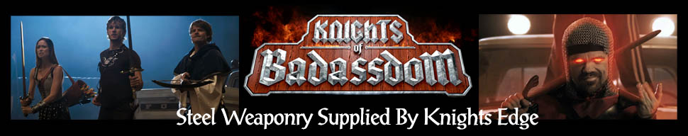 Knights Edge Supplied Steel Weaponry to Knights of Badassdom Movie