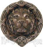 Brass Unique Antique Medieval Lion Door Knockers