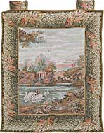 Garden of Tranquility Medieval Tapestry