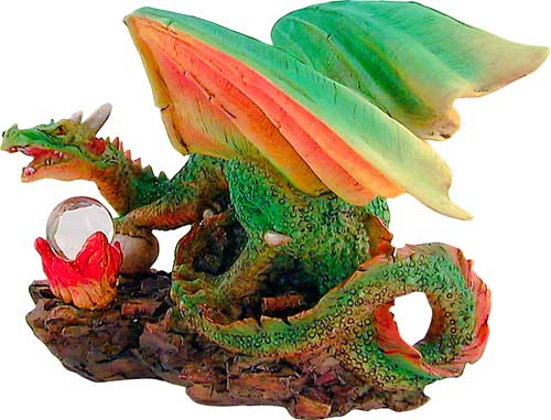 Skullfire Dragon Figurine