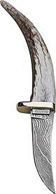 Precise Damascus Skinner Hunting Knife