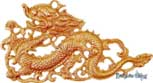 Brass Decorative Good Luck Dragons