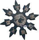 8-Point Rubber Ninja Throwing Star