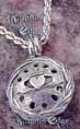 Claddagh Perfume Locket