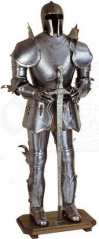 Gothic Suit of Armour Display