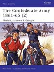 The Confederate Army 1861-65 (2) Florida, Alabama & Georgia