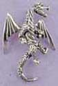 "Our sterling silver dragon pendant is a perfect companion to any dragon lover. The dragon pendant is 1-3/8 "" high"