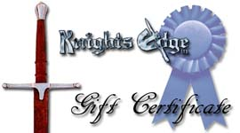 Knighs Edge Gift Certificate - Enter Your Own Price: