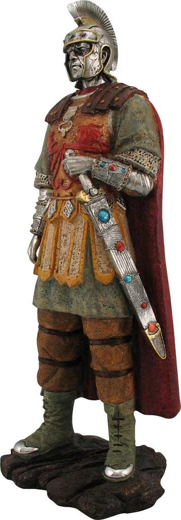 roman figures large roman soldier figurine