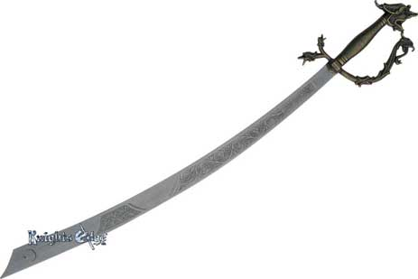 Belly Dance Dragon Scimitar Sword