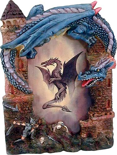 Knight and Dragon Photo Frame