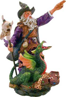 The Wizard Figurine