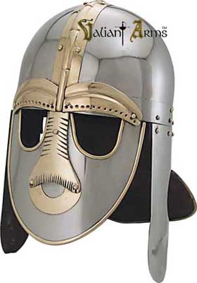6th Century Sutton Hoo Viking King Helm