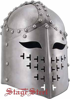 Medieval Knights Heavy Armor SCA Spangenhelm