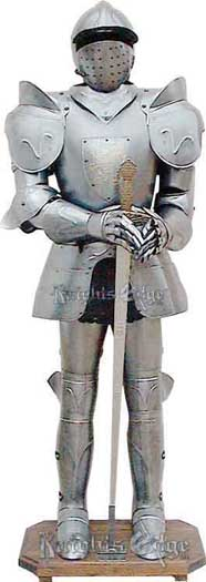 Lion Crest Suit of Armor Display