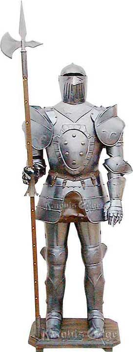 Suit of Armor Display