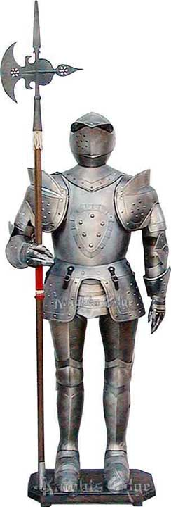 16th Century Suit of Armor Display